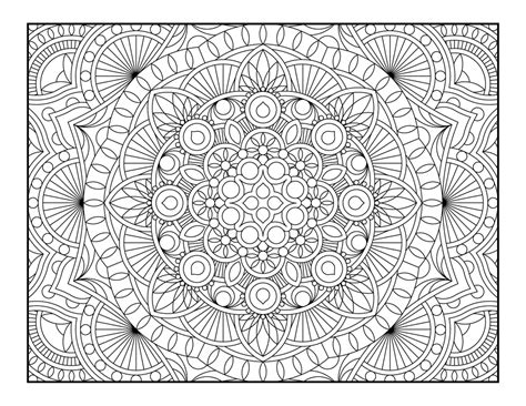 41 awesome and free geometric coloring pages for adults