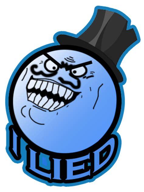 I Lied Meme Face - i lied logo by urbinator17 on deviantart