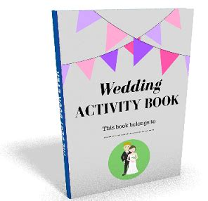 Wedding Activity Book Cover by Wedding Activity Book Cover Www Pixshark Images