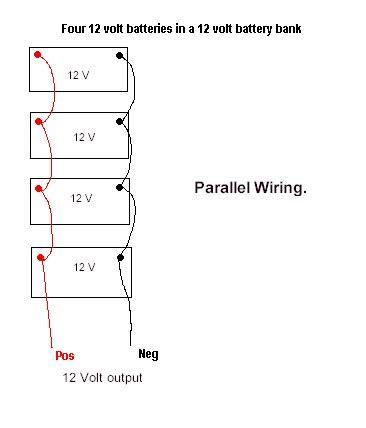 series parallel battery wiring diagram series get free