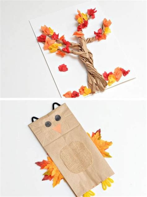 Paper Bag Crafts For Adults - 1000 ideas about fall crafts on craft ideas