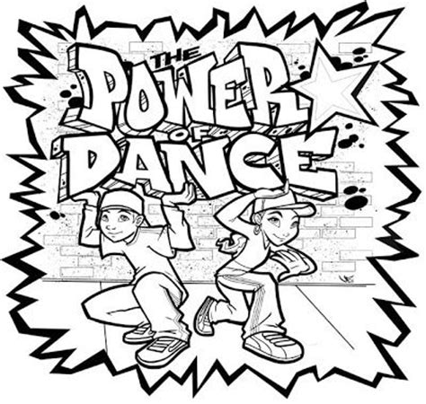 coloring book hiphopengine powerofdance hip hop coloring pages c