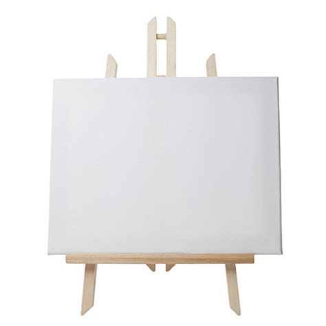 Decorative Easels For Pictures Easel With Canvas Wooden Artist Tripod Retail Signage