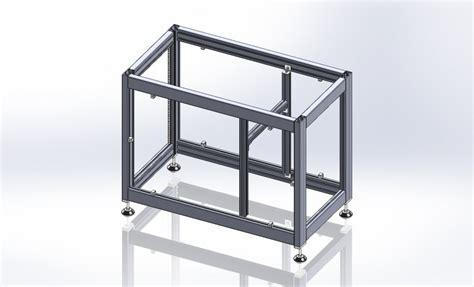 item gestell konstruktion kleefeld metallbau