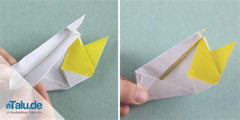 Origami Schwan - origami schwan aus papier falten faltanleitung talu de