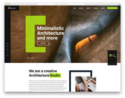 20 Best Free Construction Website Templates For Modern Builders 2018 Uicookies Arcade Website Template