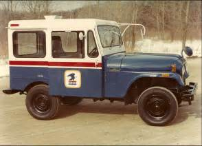 Postal Jeep Special Delivery From Jeep 174 Postal Vehicles The Jeep