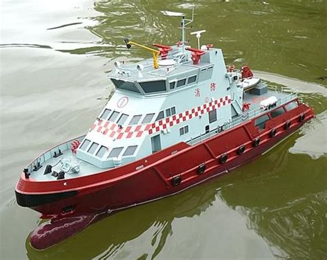 rc boats in the ocean the scale modeler rc amsterdam ocean fire boat