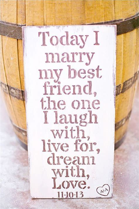 Best 25  Best friend wedding quotes ideas on Pinterest