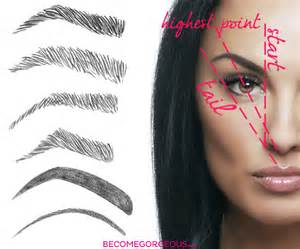 how to arch eyebrows at home best eyebrow shaping tricks
