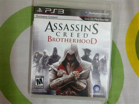 Bd Ps3 2nd Assasins Creed 3 assassin s creed brotherhood playstation 3 cd clickbd