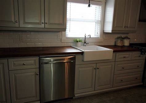 installing farmhouse sink in existing cabinets can you install a farmhouse sink in existing cabinets