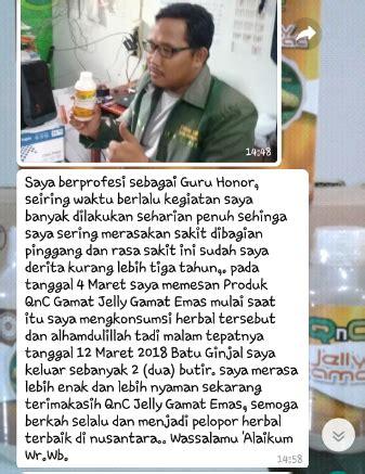 Qnc Jelly Gamat Indramayu deretan testimoni qnc jelly gamat ginjal bermasalah bisa