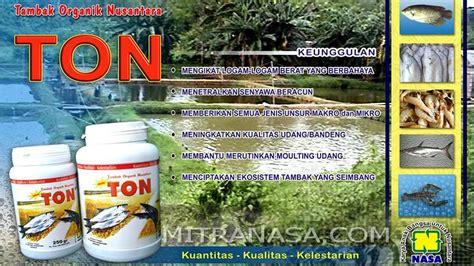 Ton Nasa Harga ton pupuk tambak organik untuk perikanan