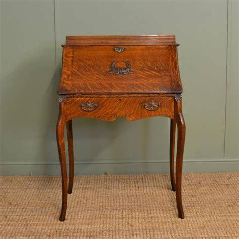 oak bureau desk edwardian oak antique bureau desk 260042