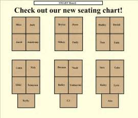 classroom seating chart template smart in the classroom kristen foley