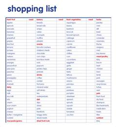 shopping list template 7 free samples examples