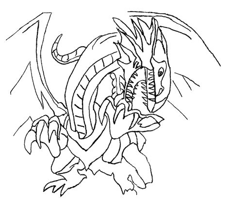 Blue Eyes White Dragon Yu Gi Oh Coloring Pages Coloring Home Yugioh Coloring Page