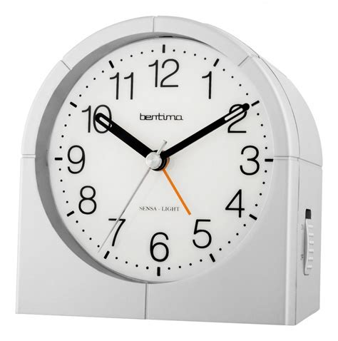 no light alarm clock bentima by acctim sensa light 1 alarm clock 14677 no tick