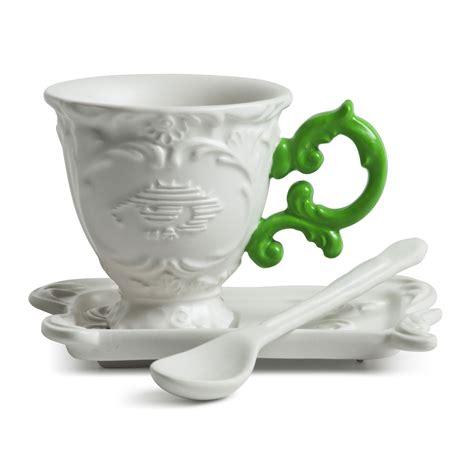 coffee mug handle china coffee cup green handle