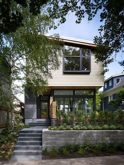 compact single family home in seattle with sustainable