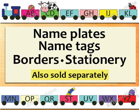 printable alphabet name plates printable classroom name tags printable name tags name