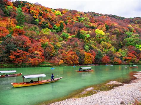 boat ride to japan 5 places to visit during autumn in japan