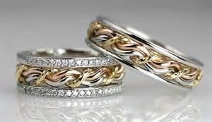 three cord strand wedding ring christian cord of three wedding ring photo gallery