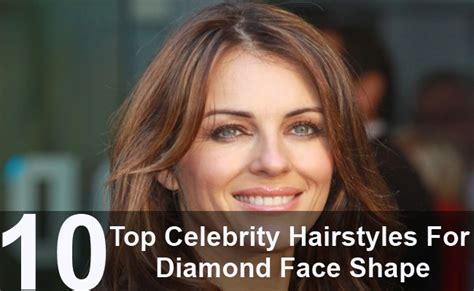 hairsstyle for women over 60 with diamond shaped face top 10 celebrity hairstyles for diamond face shape