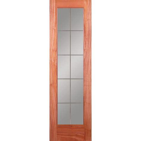 wood grain interior doors feather river doors 24 in x 80 in 10 lite illusions