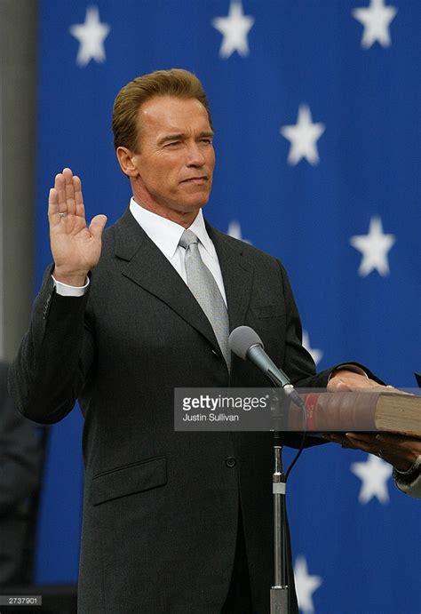 Arnold Schwarzenegger Is Re Elected by Arnold Schwarzenegger Is Sworn In As California S 38th