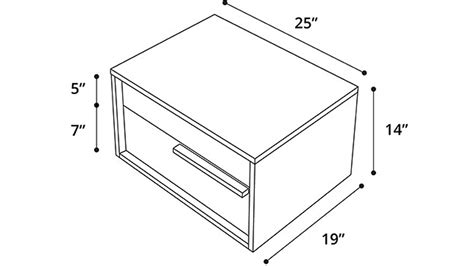 nightstand dimensions nightstand dimensions diy simple square bedside table
