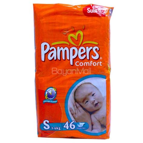 diaper comfort pers comfort disposable baby diapers small 46pcs 3 6kg