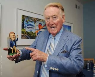 Vin Scully T Shirt Giveaway - dodgers blue heaven a vin scully memorabilia checklist records magazine covers and