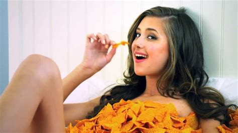 doritos commercial actress airplane doritos the super bowl commercial 2013 covered in doritos
