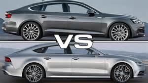 Difference Between Audi A7 And A8 Audi A5 Sportback Vs Audi A7 Sportback