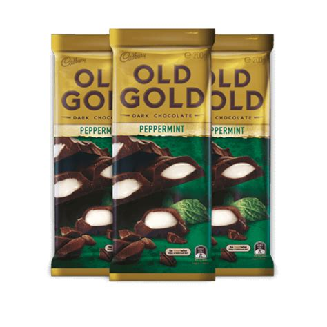Cadbury Peppermint 200 Grm australia cadbury gold chocolate peppermint 200g