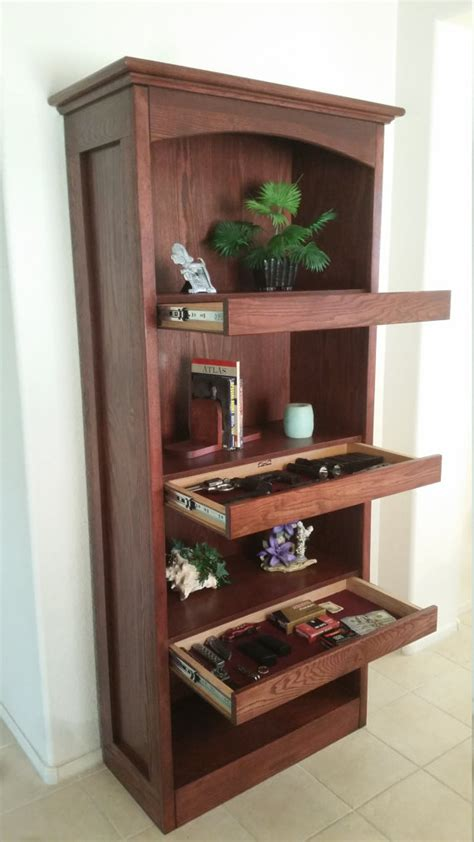 items similar to bookshelf with secret compartments on etsy