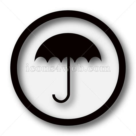 Simple Umbrella by Umbrella Simple Icon Umbrella Simple Button