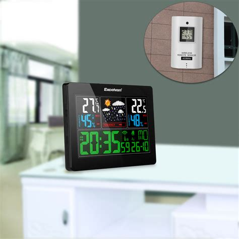 home digital wireless lcd weather station temperature