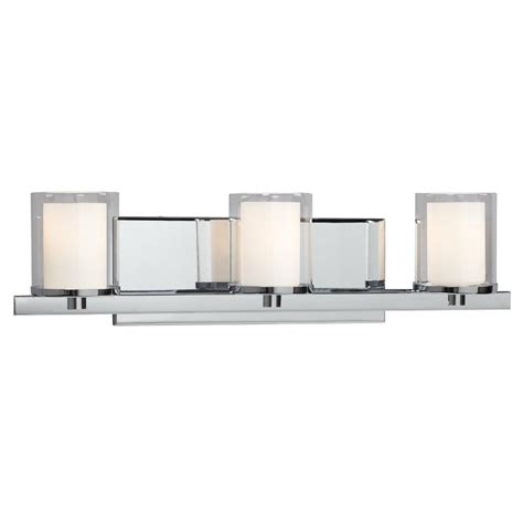 design house vanity lighting filament design donovan 3 light polished chrome bath