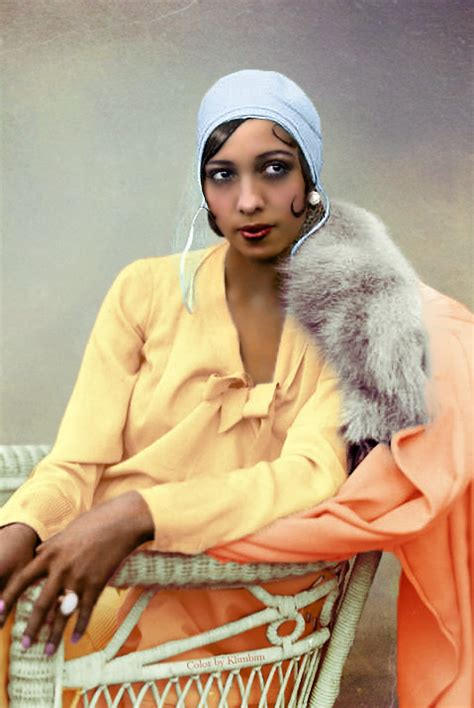josephine baker in color josephine baker color by klimbim