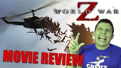 film streaming world war z world war z movie review youtube