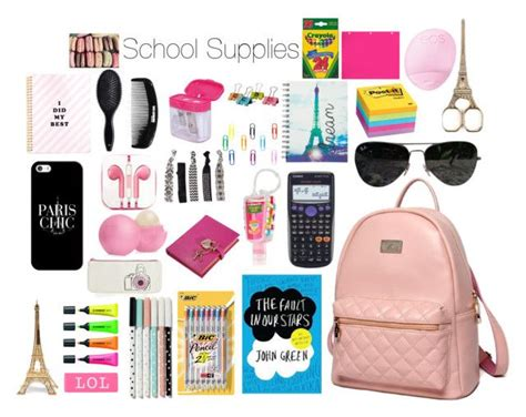 paris themed school supplies school supplies school