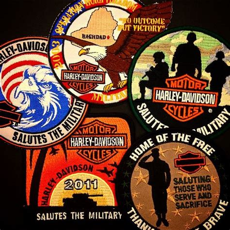 Military Giveaways - harley davidson military patch giveaway harley davidson military sales