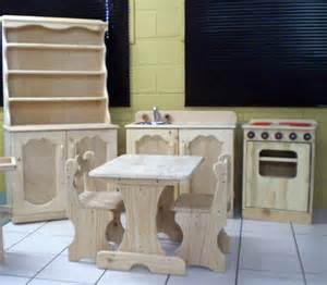 Childrens Wooden Kitchen Furniture by Wooden Toys For