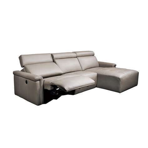 sofa with chaise lounge and recliner casale chaise with recliner beyond furniture