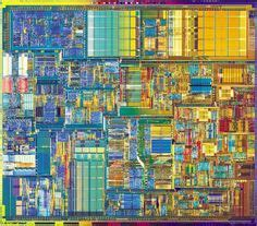 the integrated circuit the forerunner of the cpu was used in components on printed circuit board electronics and sculpture