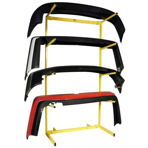 bumper storage rack free standing holds 4 bumpers 2 x box bumper storage racks bodyshop tools