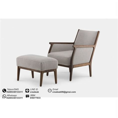 Kursi Retro Single Modern kursi santai minimalis modern createak furniture createak furniture
